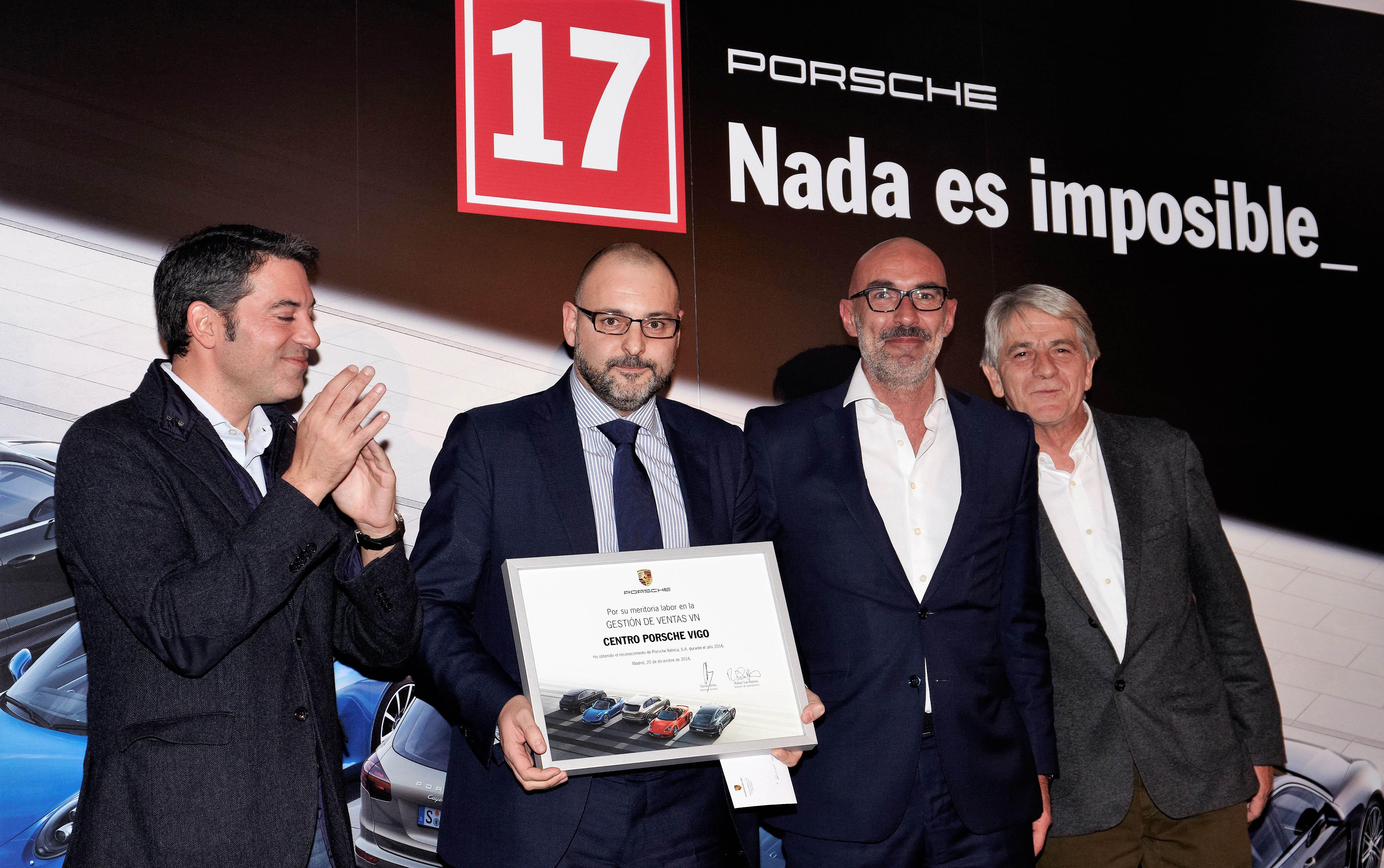 Galardón Porsche Vigo